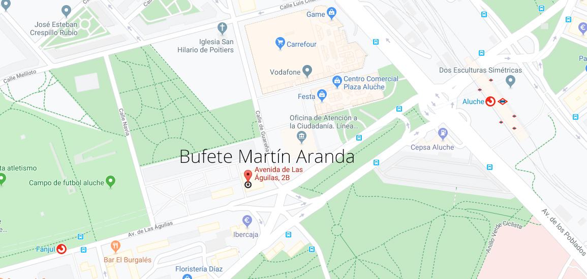 Abogados Aluche Bufete Martín Aranda